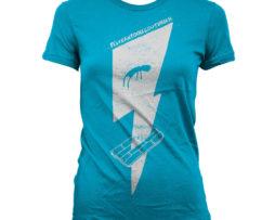 Tshirt bleu fille