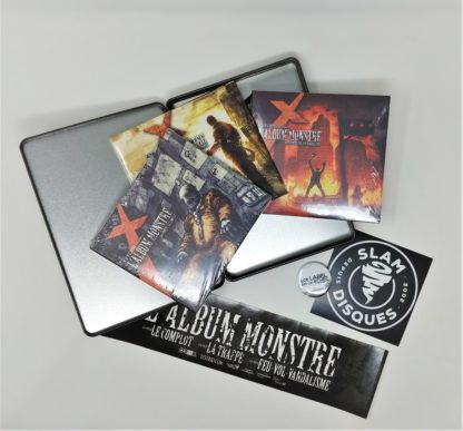 Coffret album monstre